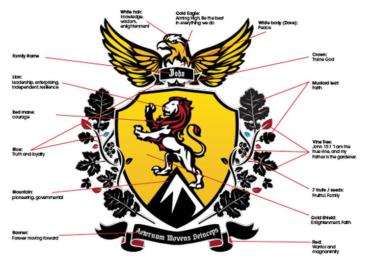 Identity Coat Of Arms Human Impactopportunities Learning Through